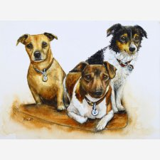 Jack Russell Trio